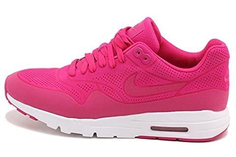 NIKE Pink Freizeit Damen-Sneaker AIR Max 1 Ultra Moire 704995 601, Größenauswahl:39