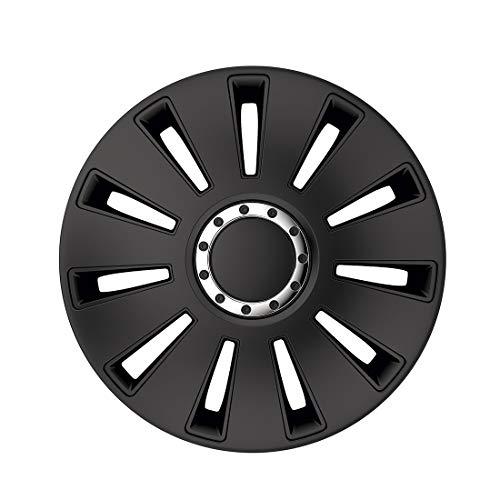 Radzierblenden/Radkappen Silverstone Pro Black 14 Zoll