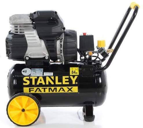Compressore silenziato S244/24 8bar 24lt 1.5Hp Fatmax Stanley