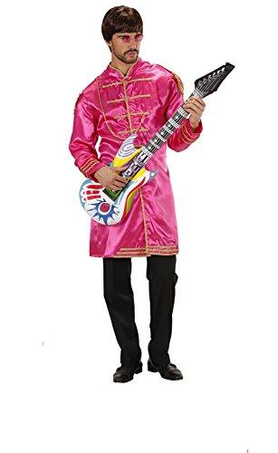 WIDMANN Kostüm Kostüm Erwachsene Musiker, 60er Jahre, Band * 19923, Mehrfarbig ()