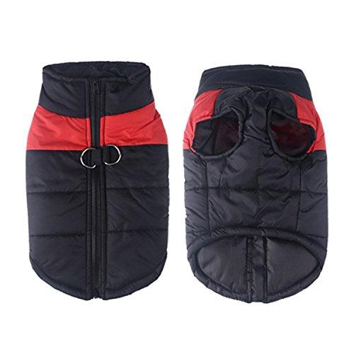 Reveryml Plus Größe Winter Warme Hundebekleidung Baumwolle Großen Hundemantel Kleidung Wasserdichte Haustier Weste Jacke Für Kleine Große Hunde Bulldogge Pitbull
