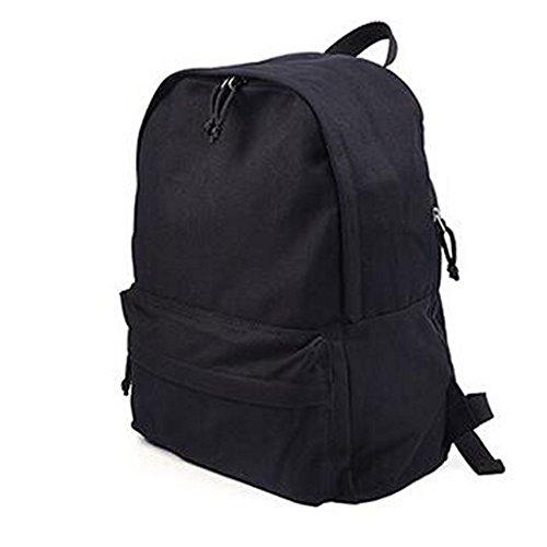 sine90-mens-boys-girls-retro-school-backpack-college-rucksack-travel-work-bag-black