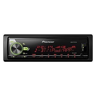 Pioneer MVH-X580BT | 1DIN Autoradio mit RDS |  Bluetooth | USB | AUX-Eingang | Bluetooth Freisprecheinrichtung | Kompatibel mit Android und iPod/iPhone | Spotify-Direktsteuerung