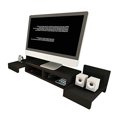 Unbekannt Support Desktop-Regale, Computer-TV-Monitor Erhöhte Halterung, kombinierbar (Farbe : 3#)