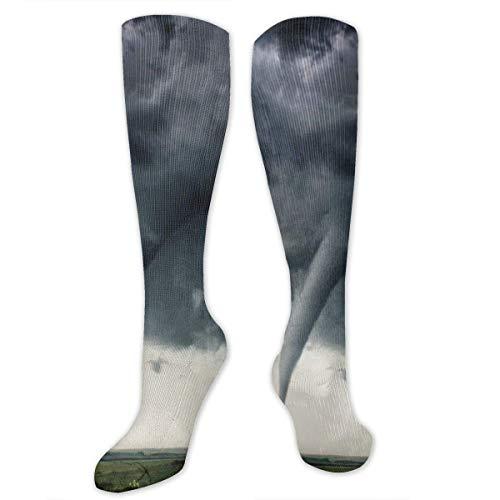 deyhfef Tornado Socks Casual Fashion Soft Stockings, - Kind Tornado Kostüm