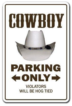 Western Rodeo Pferd (Deko Schilder mit Sprüchen Cowboy Farm Western Geschenk Pferde Funny Rodeo Metall Aluminium Wand Schild Hinweisschild)