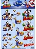 Die Cut Découpage Sheet - Mickey & Friends