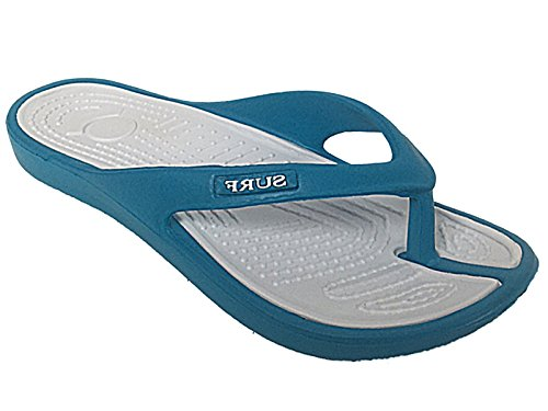 Foster Footwear - Sandali  Unisex per bambini Unisex adulti donna da ragazza' Turquoise