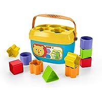 Fisher-Price - Juguete Bloques Construcción para Bebé +6 Meses, colores/modelos Surtido (Mattel FFC84)