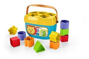 Fisher-Price Bloques infantiles, juguete para bebé +6 meses (Mattel FFC84)