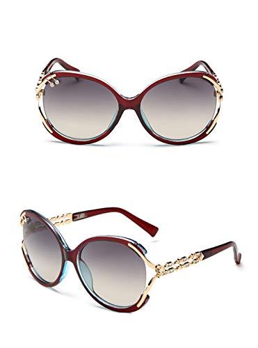 DAIYSNAFDN Mode Sonnenbrillen Frauen Designer Sonnenbrille für weibliche Vintage Retro Dame C3