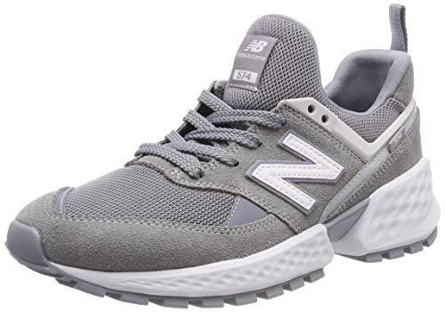 New Balance 574S v2, Zapatillas para Hombre, Gris (Steel/NB White Nsb), 43 EU