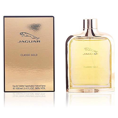 Jaguar Classic Gold Eau de Toilette Natural Spray, 1er Pack (1 x 100 ml) - Red Parfüm Eau De Toilette