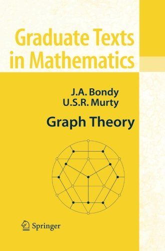 Graph Theory: (Graduate Texts in Mathematics) par Adrian Bondy