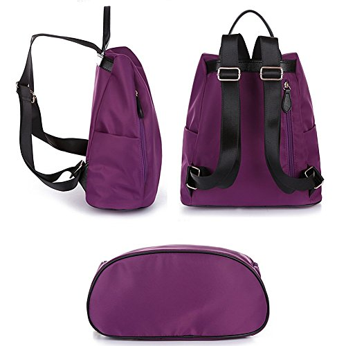JXQ01937 zainetto Remeehi a 1 donna nero Purple Black Borsa RUn7qBwYx
