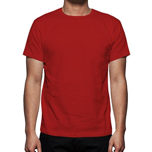 Neue Mens Gaffer Multi Pack viel reiner grundlegende Baumwolle lässig leere t-Shirt Top 2Pack-Red