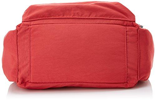 Kipling Gabbie, Women's Cross-body Bag, Red (Spicy C), 15x24x45 Cm (W X H X L)