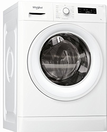 Whirlpool FWSF61253W IT Lavatrice slim