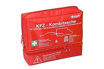 KALFF 7425 KFZ-Kombitasche Trio inklusive Warndreieck und Warnweste