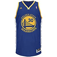 adidas NBA Golden State Warriors  30 Stephen Curry Swingman Basketball  Jerseys kits Blue 24ec9337c994