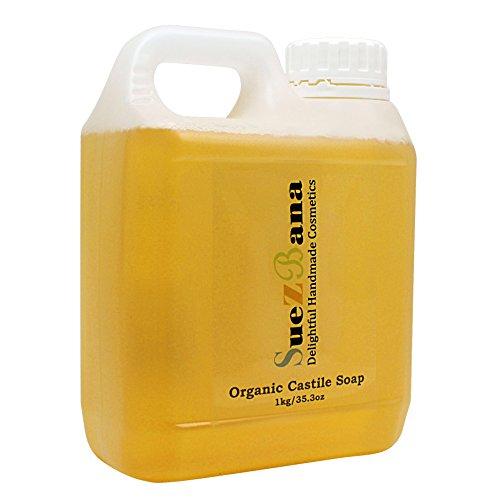 Suezbana Liquid Castile Soap Organic 1Kg
