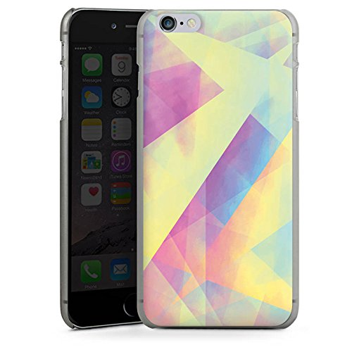 Apple iPhone X Silikon Hülle Case Schutzhülle Pastell Frühling Farben Hard Case anthrazit-klar
