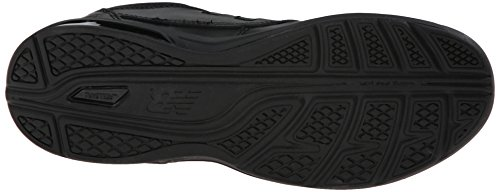 New Balance Men's MW813 Walking Shoe, Black, 10 2E US Black