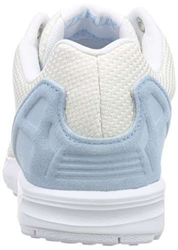 adidas ZX Flux Weave, Sneakers da Donna bianco (off weiß/off weiß/blush blau s15-st)
