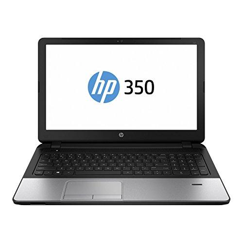 HP 350 F7Y54EA39,62 cm (15,6 Zoll) Business Notebook (Intel core i3-4005U, 1,6GHz, 4GB RAM, 750GB HDD, Windows 7 Professional) schwarz