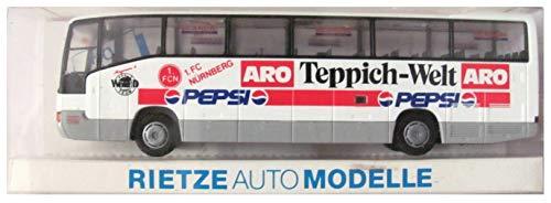 1.FC Nürnberg - Pepsi Cola & ARO Teppich Welt - MB O 404 RHD - Teambus - Reisebus - Bus - von Rietze - Motiv 2