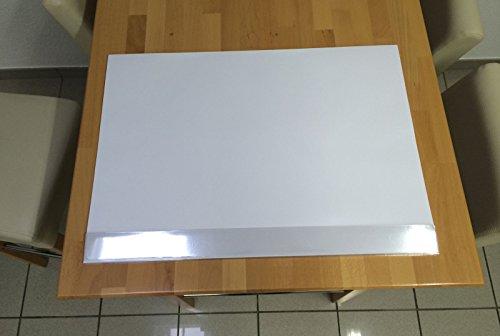 Schreibtischunterlage blanko mit Kantenschutz, Schreibtisch, Büro, Schreibblock, Unterlage,...