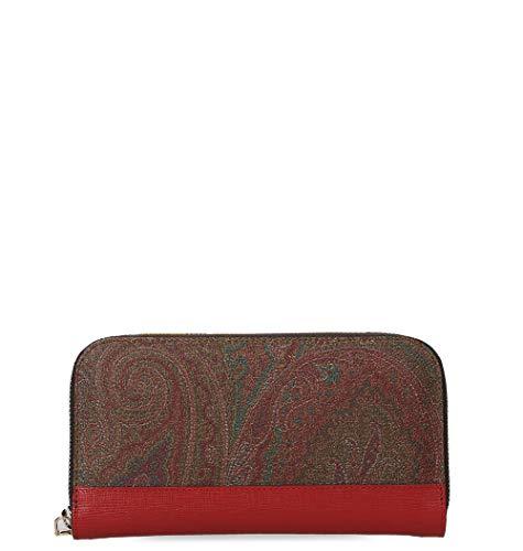 Etro Luxury Fashion Donna 1G2178036600 Rosso Portafoglio | Primavera Estate 19