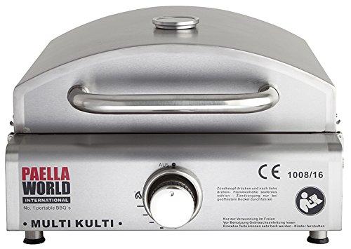 MULTI-KULTI®, der multifunktionale Gasgrill