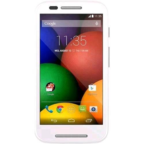 Motorola E XT 1524 LTE Smartphone, Marchio Vodafone, Nero [Italia]