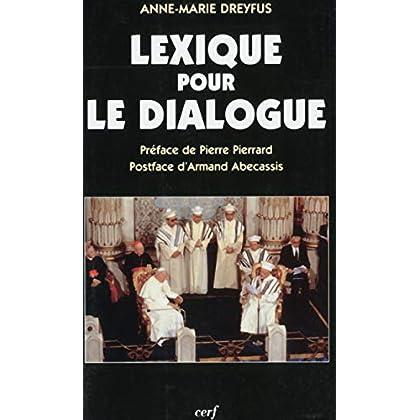 Lexique pour le dialogue