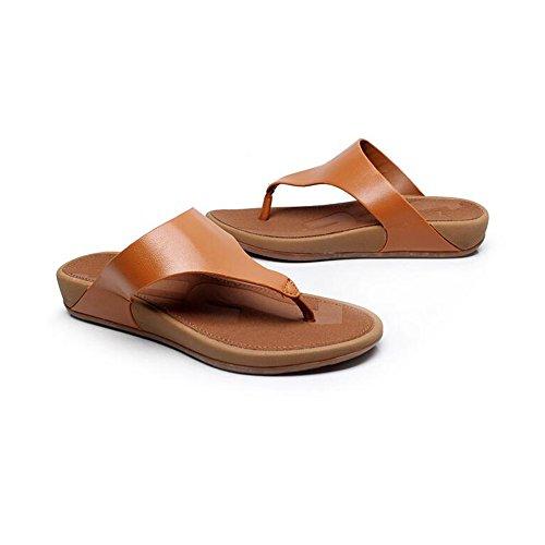 Estate Sandali Pantaloni donna Summer Comfort Casual Flat Heels Scarpe da passeggio Scarpe da spiaggia di temperamento Colore / formato facoltativo #3