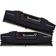 G.Skill Ripjaws F4-3200C16D-16GVK Arbeitsspeicher 16GB PC 3200 (CL16 2X 8GB) DDR4-RAM Kit