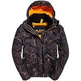 Superdry Men's Men's Arctic Hooded Print Pop Zip Sd-Windcheater Jacket