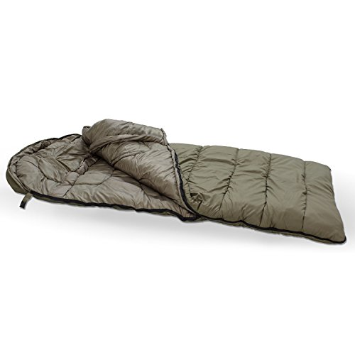 Lucx Like a Sloth Sleeping Bag Schlafsack, Angelschlafsack, Anglerschlafsack zum Nachtangeln bis - 30 Grad - Extreme Sport Stand Bag