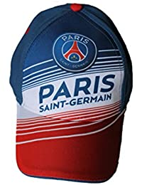 paris saint germain-casquette psg-bleu blanc rouge-garçon ou fille