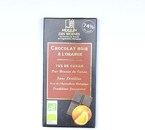 Chocolat orange 100g