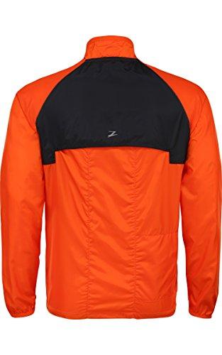 Zoot - Jacke Wind Swell Jacket, Giacca Uomo Arancione (Solar Flare/Black)