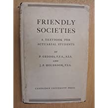 Friendly Societies: A Textbook for Actuarial Students