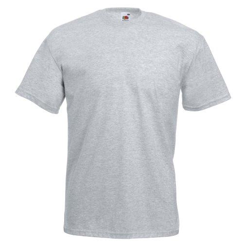 Fruit of the Loom Herren T-Shirt Heathergrau