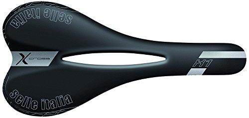 Selle Italia X1 X-Cross Flow - Sillín para hombre, color negro