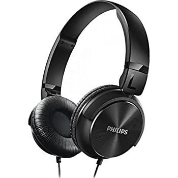 Philips SHL3060BK/00 On-Ear DJ Style Monitoring Headphones (Black)