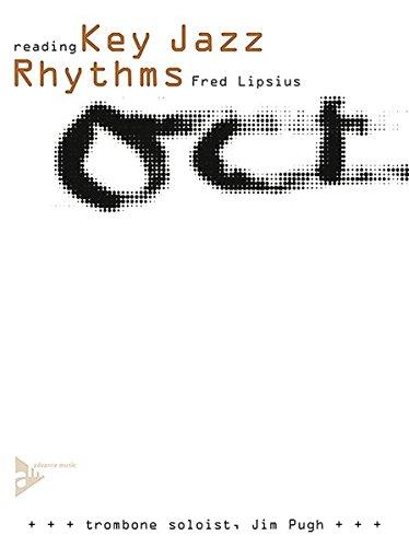 Reading Key Jazz Rhythms: Trombone. Posaune. Lehrbuch mit CD.