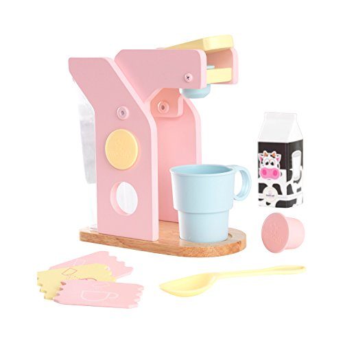 KidKraft Pastel Coffee Set - Play Kitchen accessory