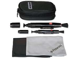 Kit de nettoyage stylo optique Lenspen original par Polaroid (Lenspen, MiniPro II, chiffon antibrouillard, chiffon en microfibre, étui de transport) Le système de nettoyage optique idéal pour tous les appareils photo, reflex, caméscopes et objectifs