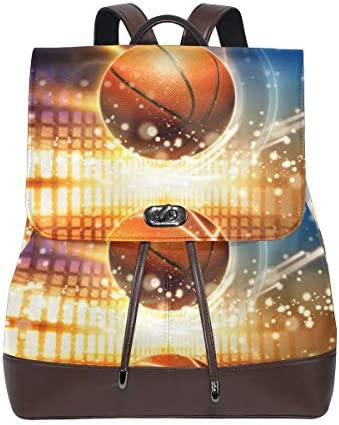 46a2e925aa MALPLENA Zaino Zaino Zaino basketball on Fire scuola borsa zaino da viaggio  B07H7ZKKL8 Parent   Aspetto estetico   Per Vincere Elogio Caldo Dai Clienti  ...